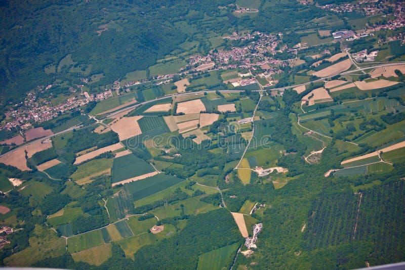 Lado francês do país foto de stock