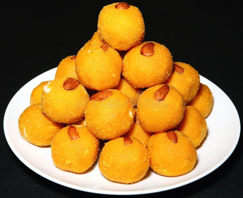 Ladoo dei dolci di Diwali fotografie stock libere da diritti