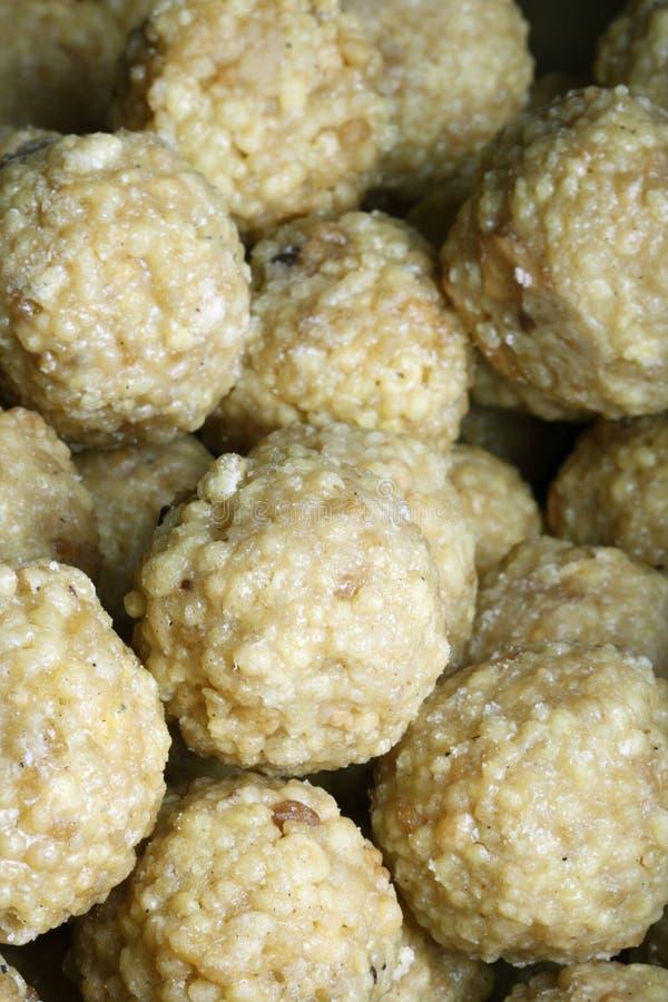 Ladoo - el laddu es un plato dulce de la India fotografía de archivo libre de regalías