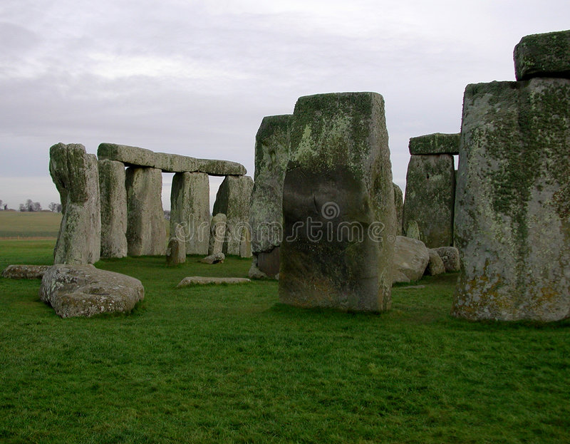 Download Lados de Stonehenge imagem de stock. Imagem de inglês, dolomite - 56573