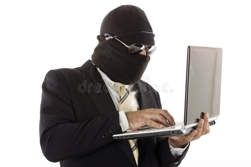 Ladrão da identidade imagens de stock royalty free