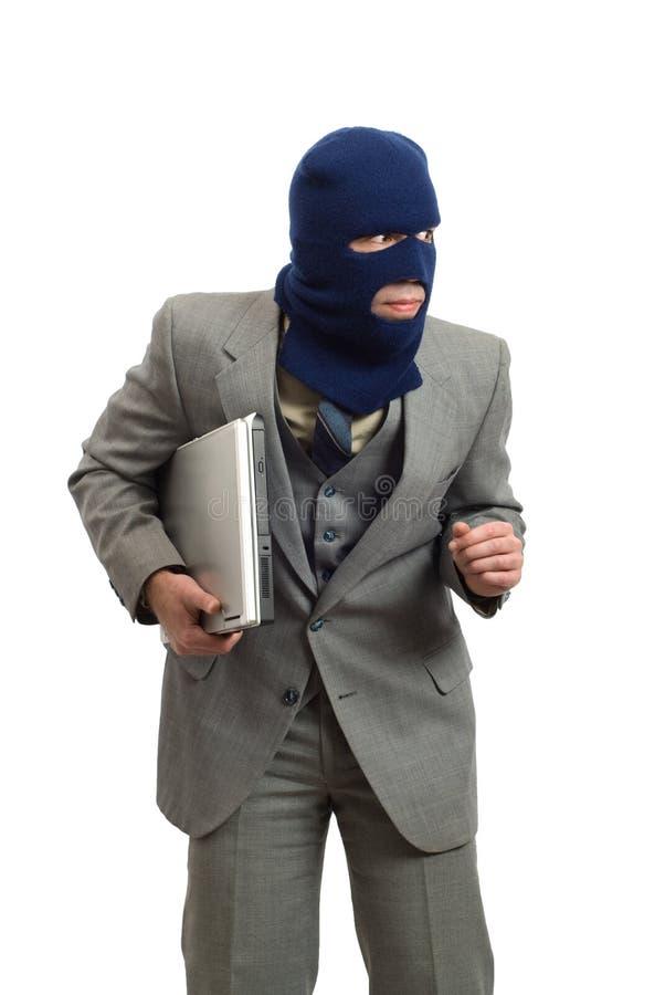 Ladrão Sneaky imagem de stock