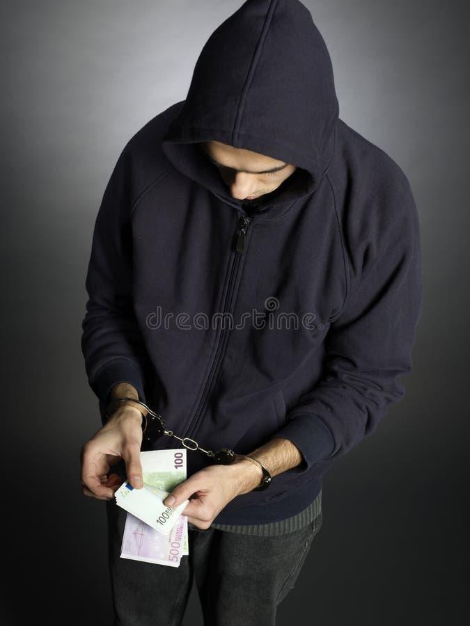 ladrón imagen de archivo