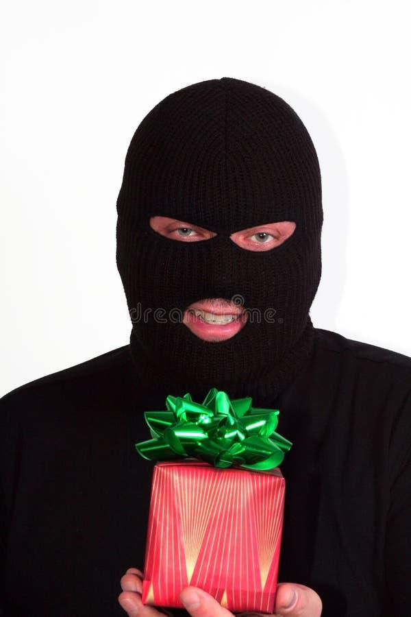 Ladrón de la tarjeta del día de San Valentín fotos de archivo