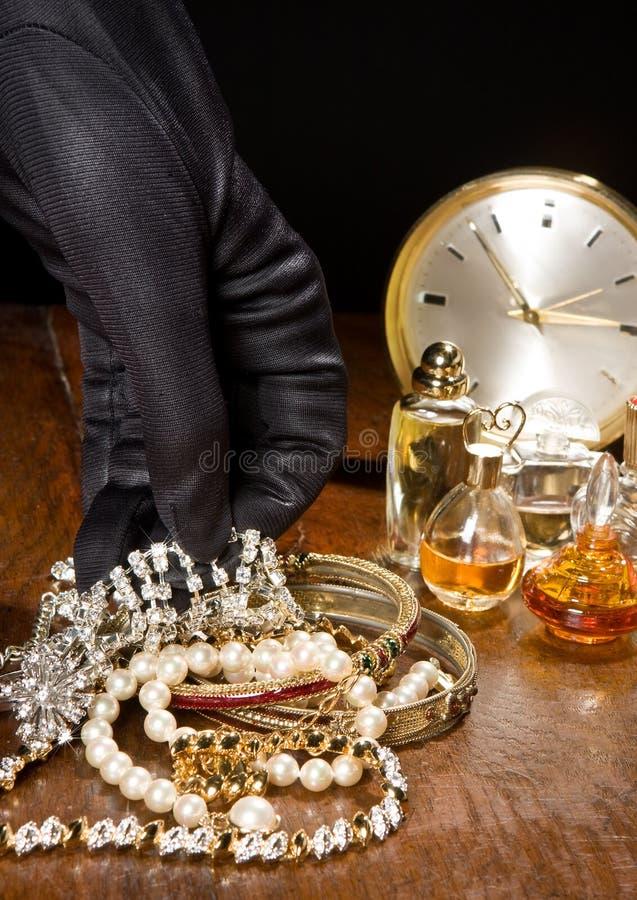 Ladrón del diamante fotos de archivo libres de regalías