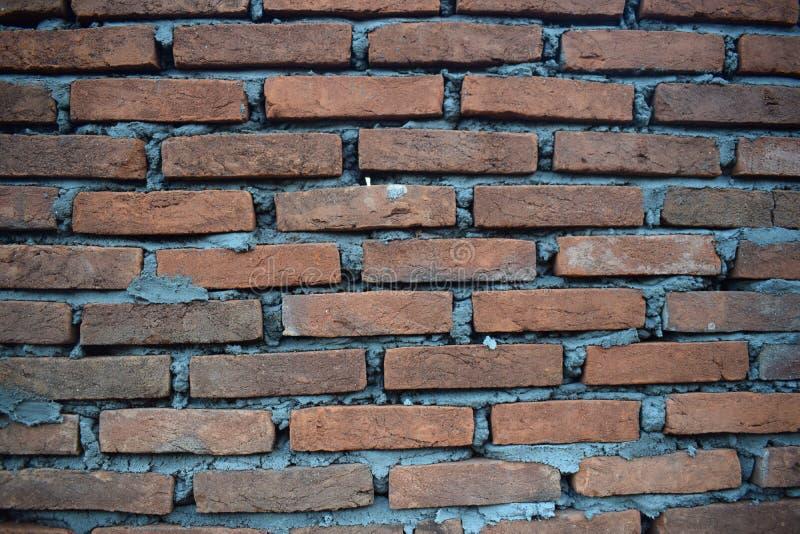 Ladrillo de la pared usando para el fondo fotografía de archivo