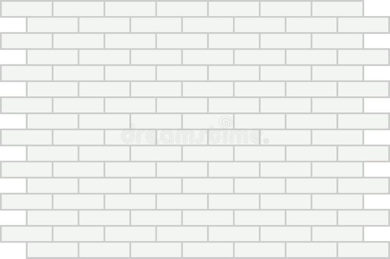 Ladrillo del blanco de la pared. Antecedentes. libre illustration