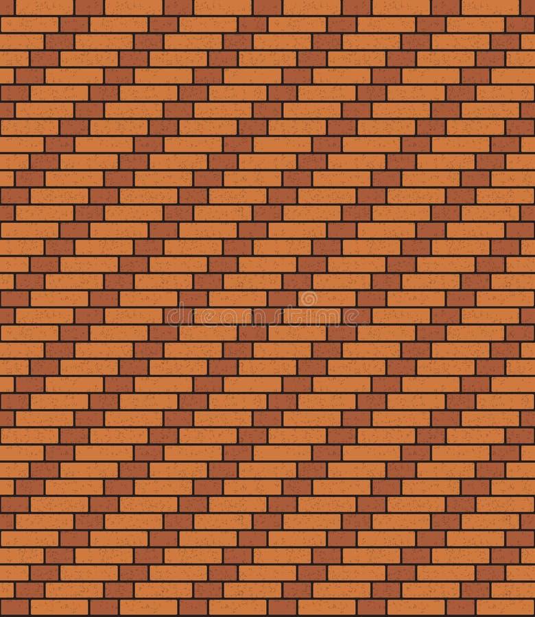 Ladrillo espiral holandés stock de ilustración