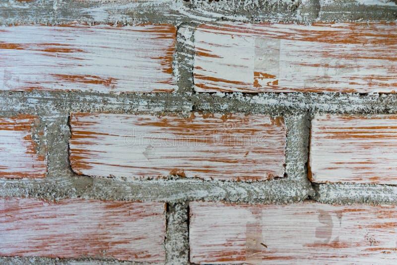 Ladrillo y cemento foto de archivo libre de regalías