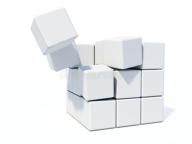 Download Ladrillos blancos stock de ilustración. Ilustración de muestra - 7283105