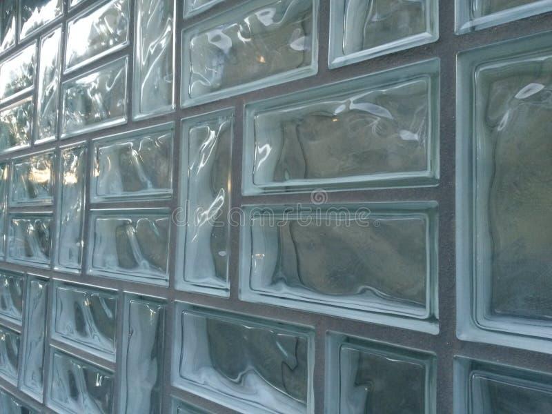 Ladrillos de cristal fotos de archivo