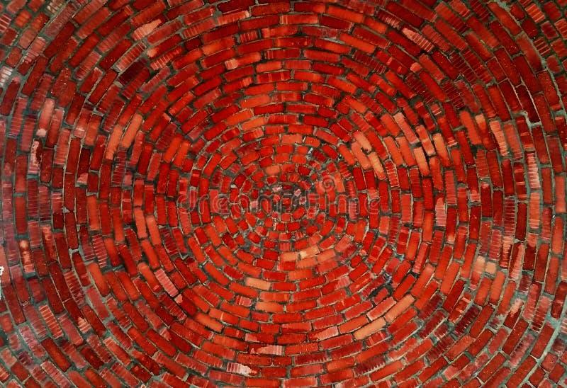 Ladrillos espirales imagenes de archivo