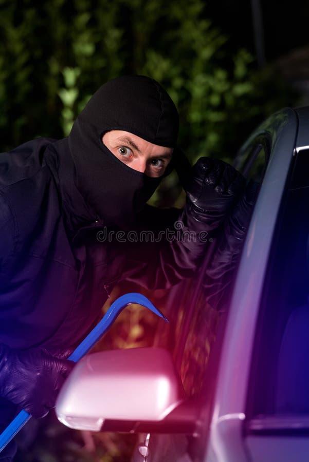 Ladro preso mentre rubando immagini stock libere da diritti