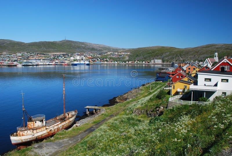 Ladscape de Hammerfest fotos de archivo