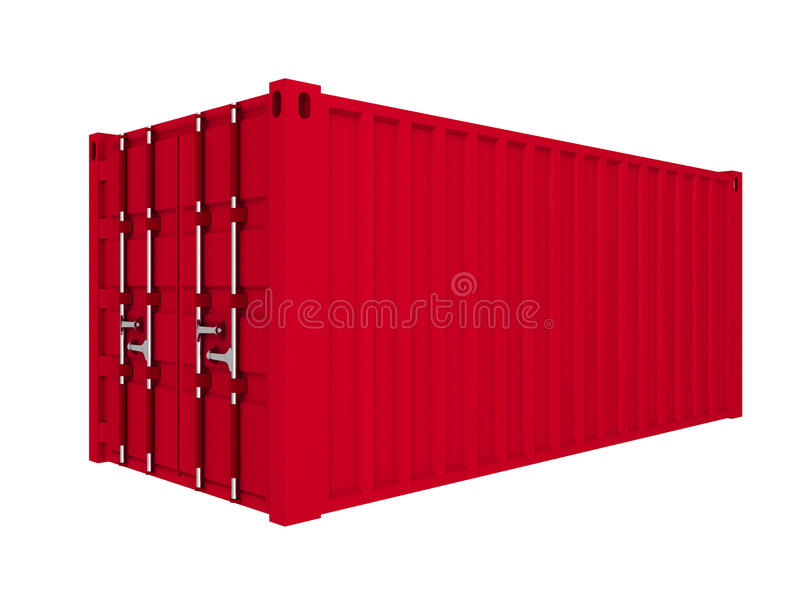 Ladungbehälter vektor abbildung