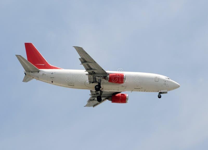 Ladungstrahlenflugzeug lizenzfreie stockfotos