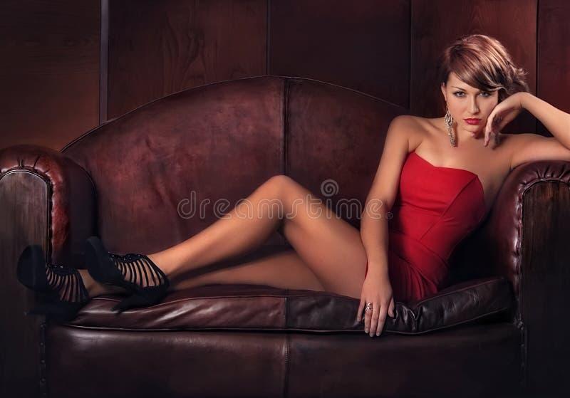 lady arkivfoto