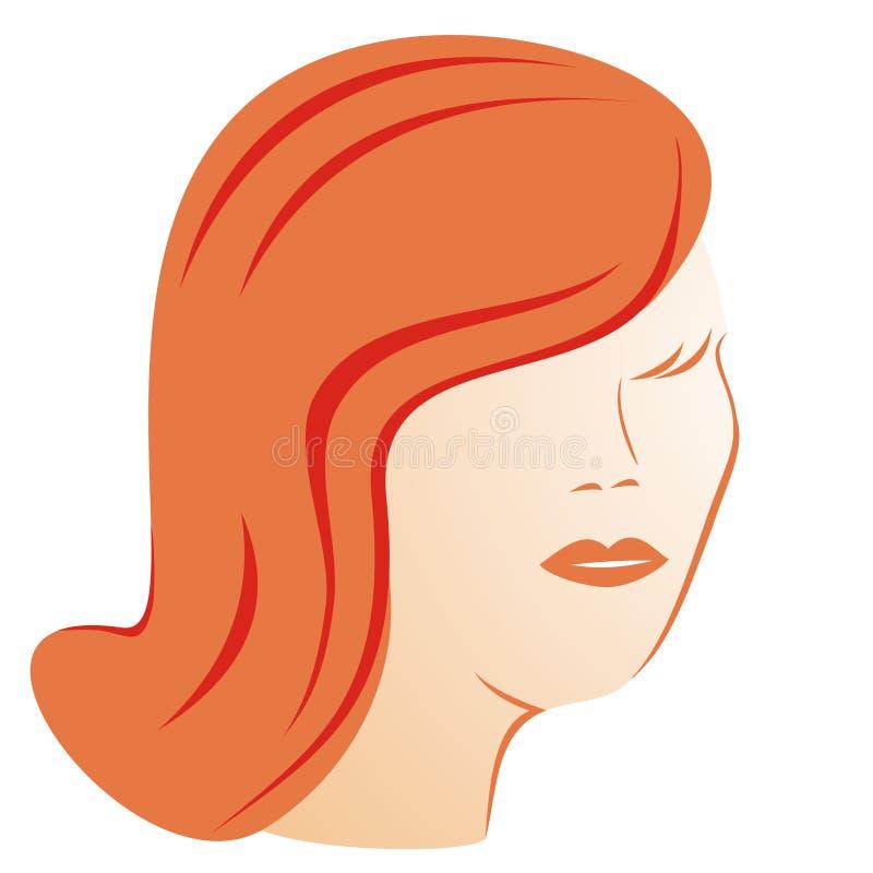 Lady - beauty vector illustration