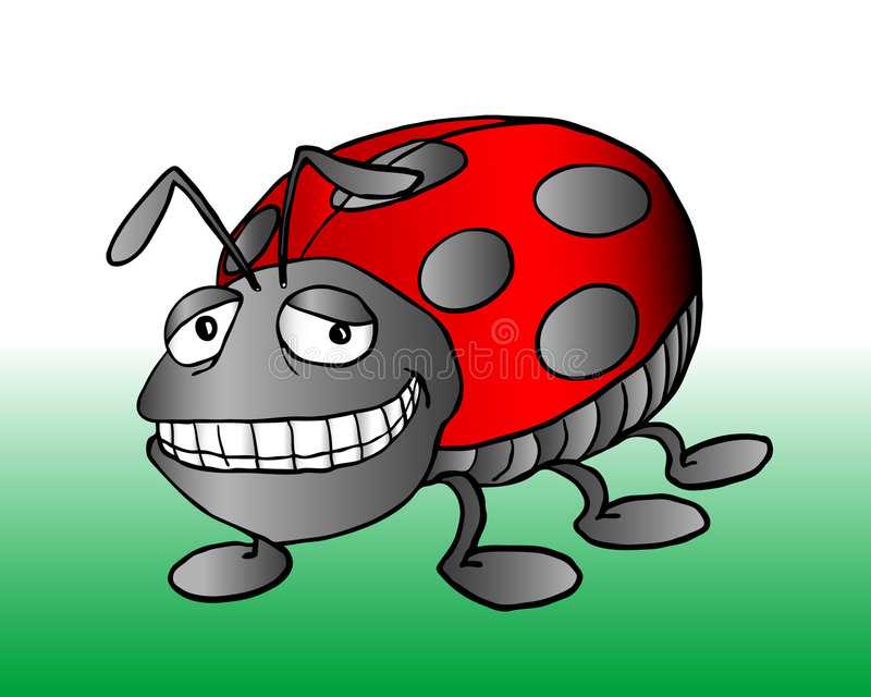 Download Lady bug stock vector. Image of vector, graphic, clip - 5370852