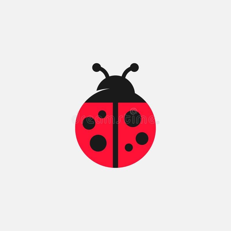Free Lady Bug Icon Illustration Royalty Free Stock Photo - 166477595