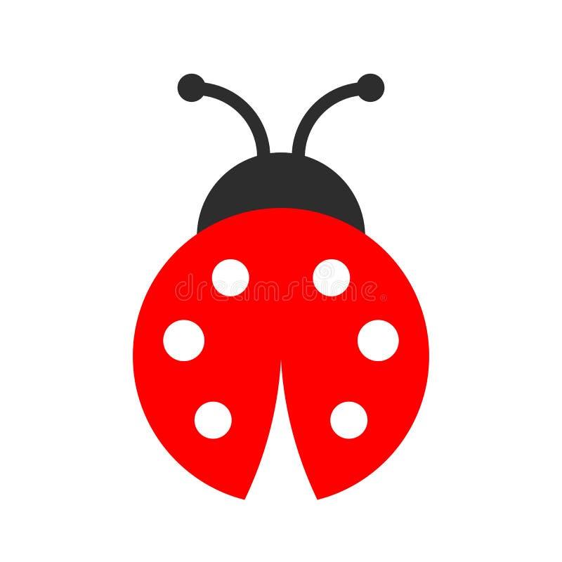 Free Lady Bug Vector Icon Stock Photo - 143946820