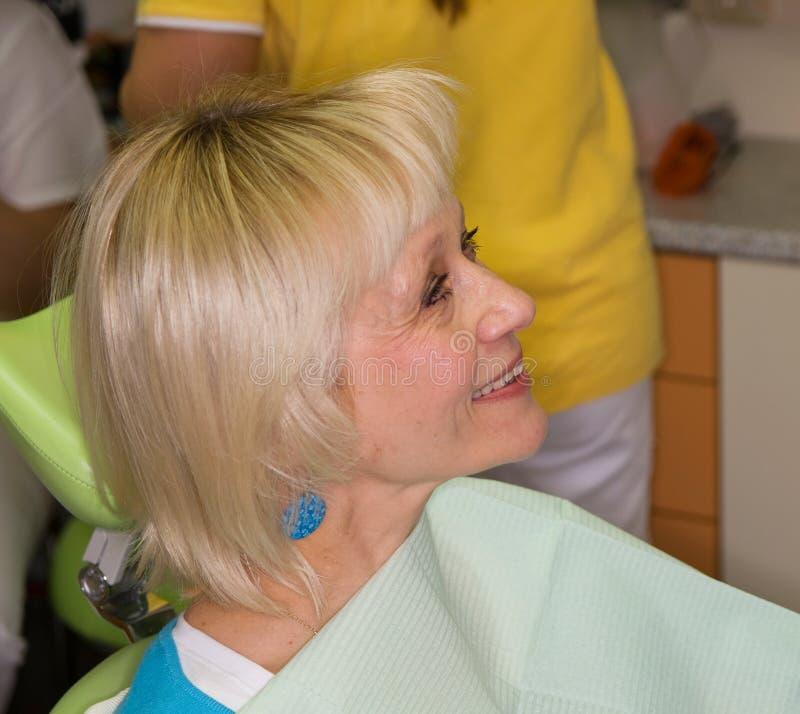 Download Lady Before Dental Examination Stock Photo - Image: 24918772