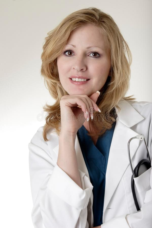 Lady Doctor Stock Image