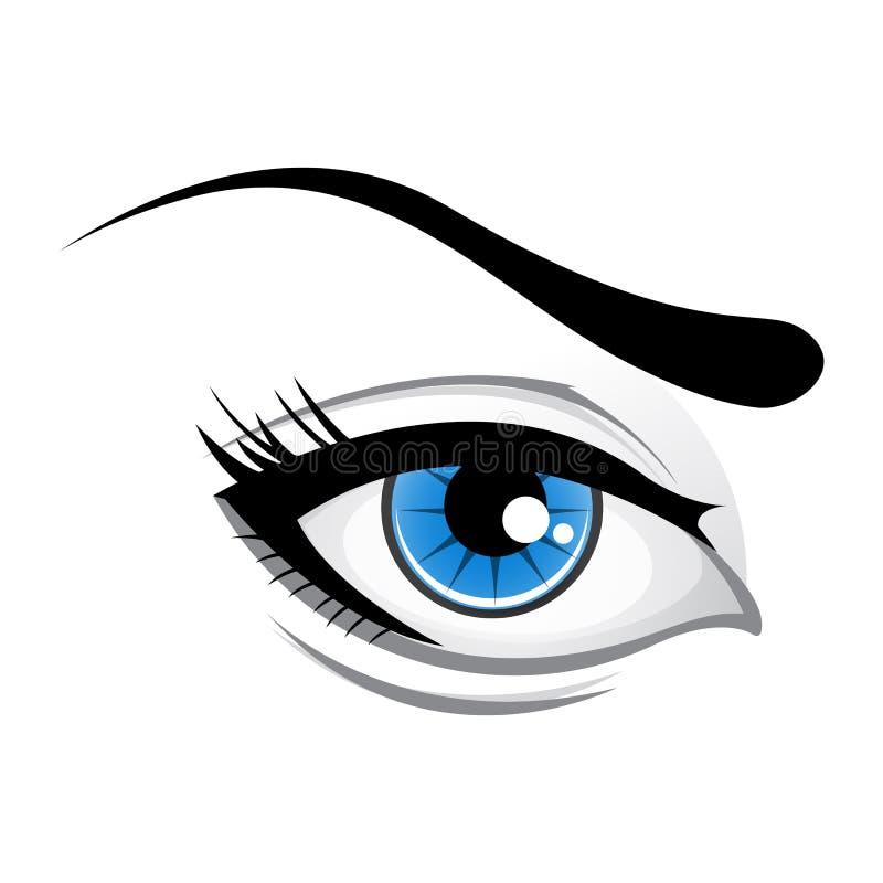 Download Lady Eye Stock Image - Image: 17555071