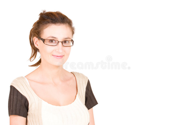 lady för 91 affär fotografering för bildbyråer