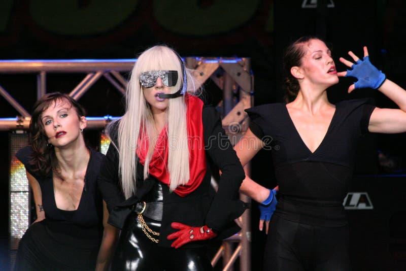 Lady GaGa royalty free stock photography