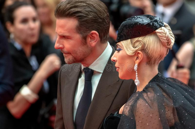 TIFF 2018, Toronto International Film Festival. Lady Gaga. The Toronto International Film Festival is one of the most important in the world. Bradley Cooper stock photography