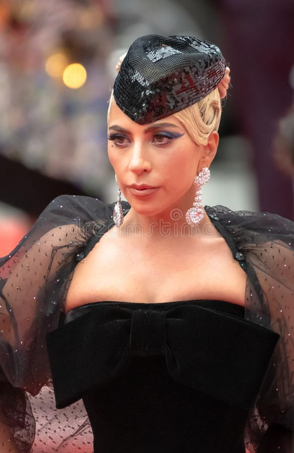 TIFF 2018, Toronto International Film Festival. Lady Gaga. The Toronto International Film Festival is one of the most important in the world royalty free stock photo