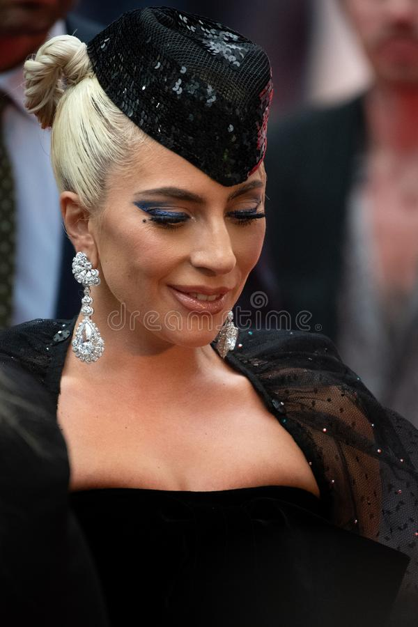 TIFF 2018, Toronto International Film Festival. Lady Gaga. The Toronto International Film Festival is one of the most important in the world royalty free stock photography
