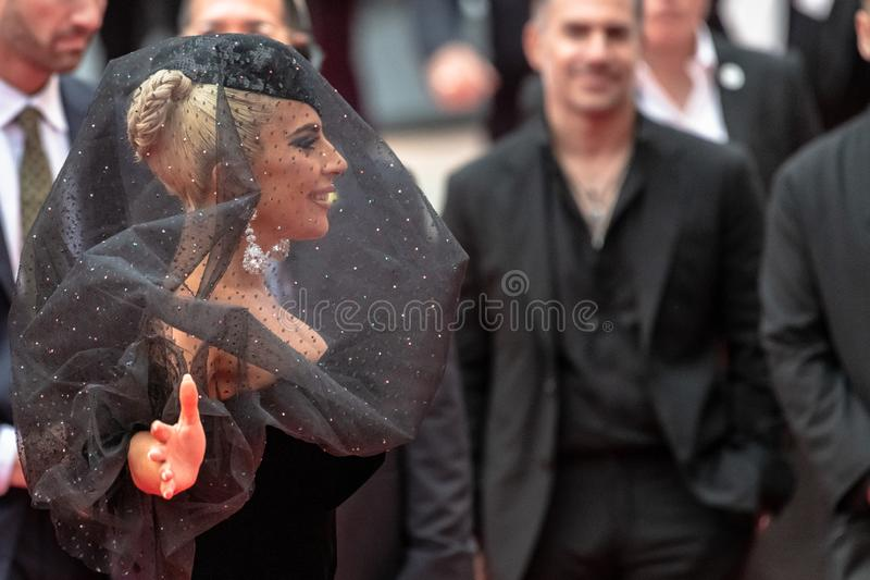 TIFF 2018, Toronto International Film Festival. Lady Gaga. The Toronto International Film Festival is one of the most important in the world stock photography