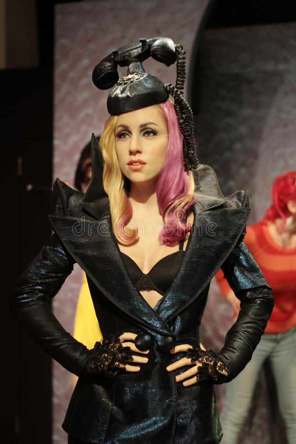 Lady Gaga royalty free stock photos