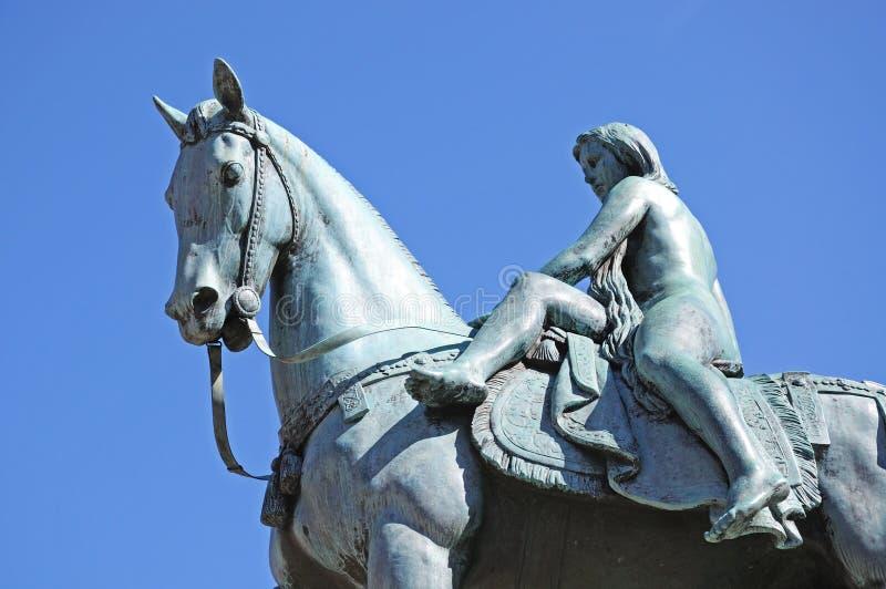 Lady Godiva statue, Coventry. royalty free stock photo