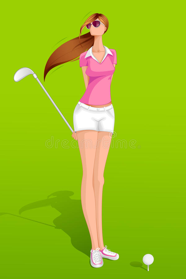 Download Lady Golfer Stock Images - Image: 26004414