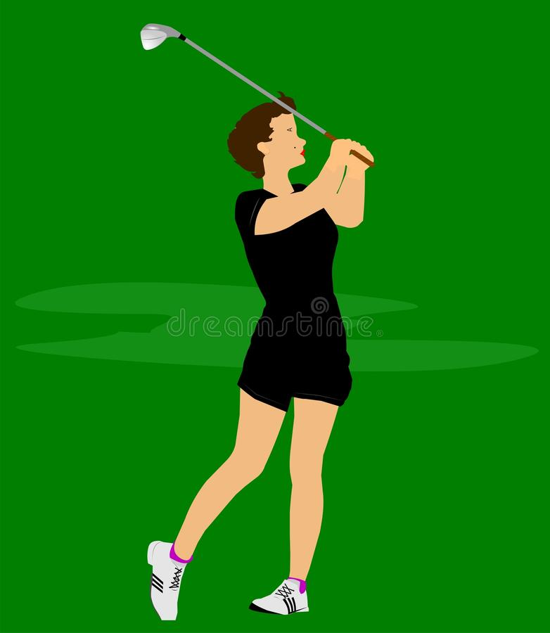 lady golfer stock illustrations – 268 lady golfer stock illustrations,  vectors & clipart - dreamstime  dreamstime.com