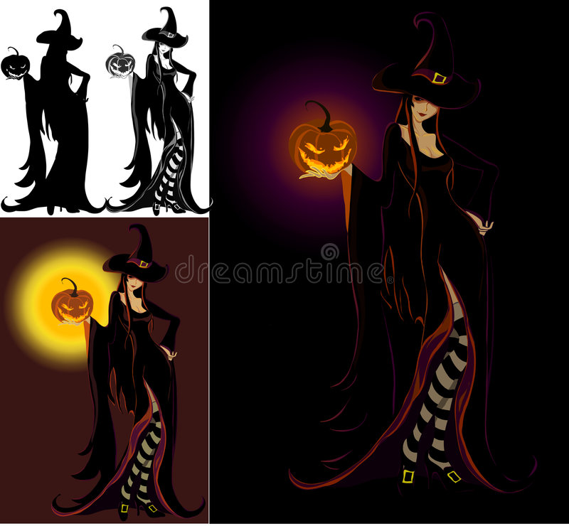 Download Lady Halloween - Witch stock vector. Image of face, human - 6533683