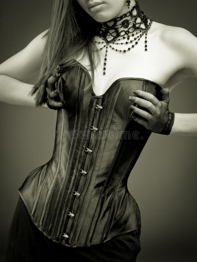 Free Lady In Corset Stock Photography - 12691312