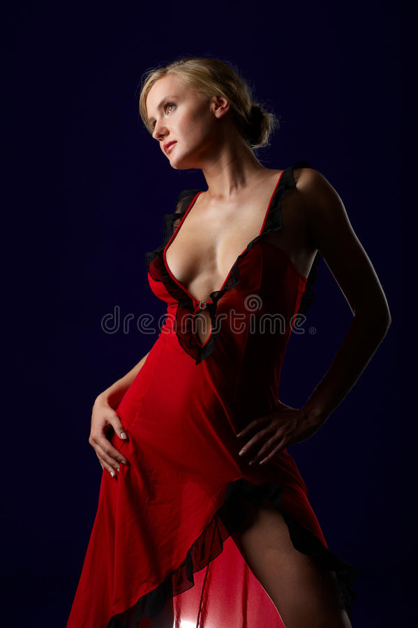Free LADY IN RED Royalty Free Stock Photography - 11325327