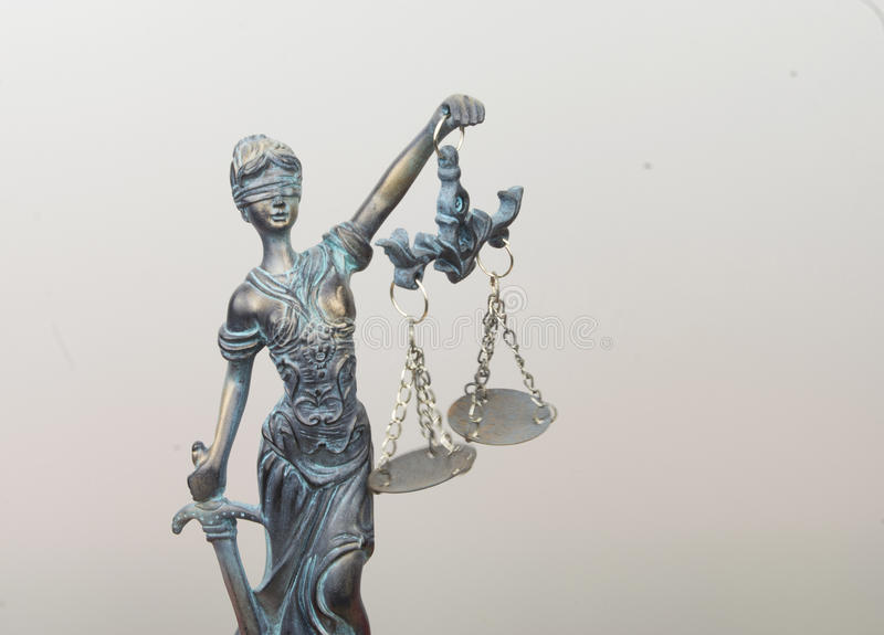 Lady Justice stock photo