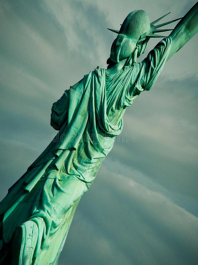 Lady Liberty stock image