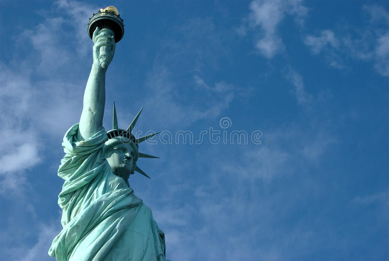 Download Lady Liberty stock image. Image of america, closeup, zoom - 26335425