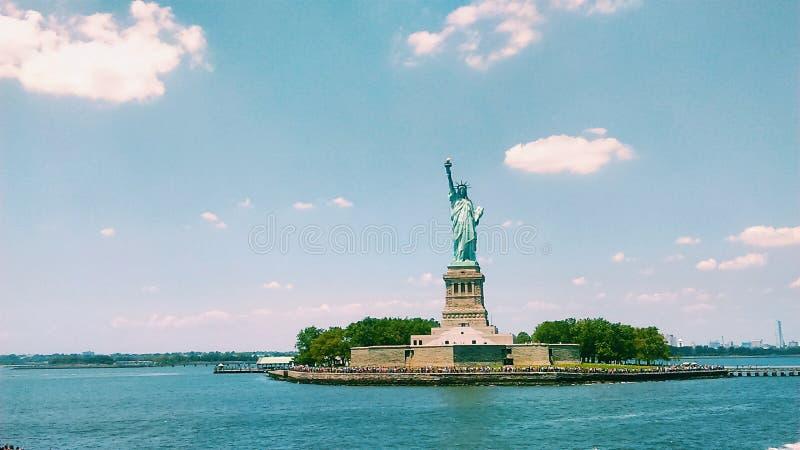 Lady Liberty stock photo