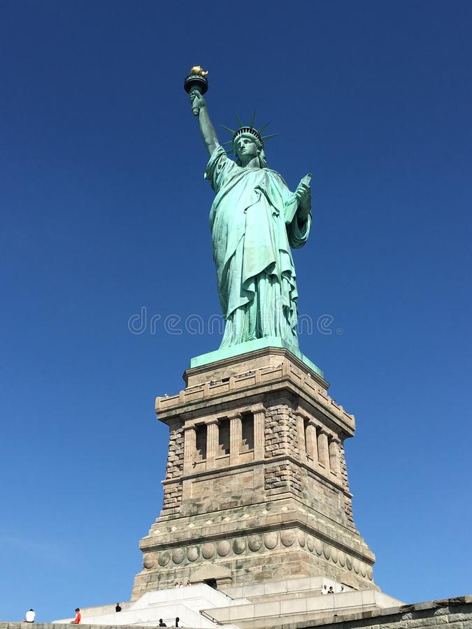 Lady Liberty royalty free stock image