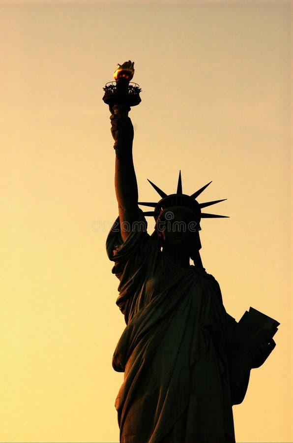 Download Lady Liberty At Sunset Stock Photo - Image: 314770