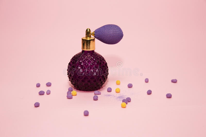 Lady perfume royalty free stock images