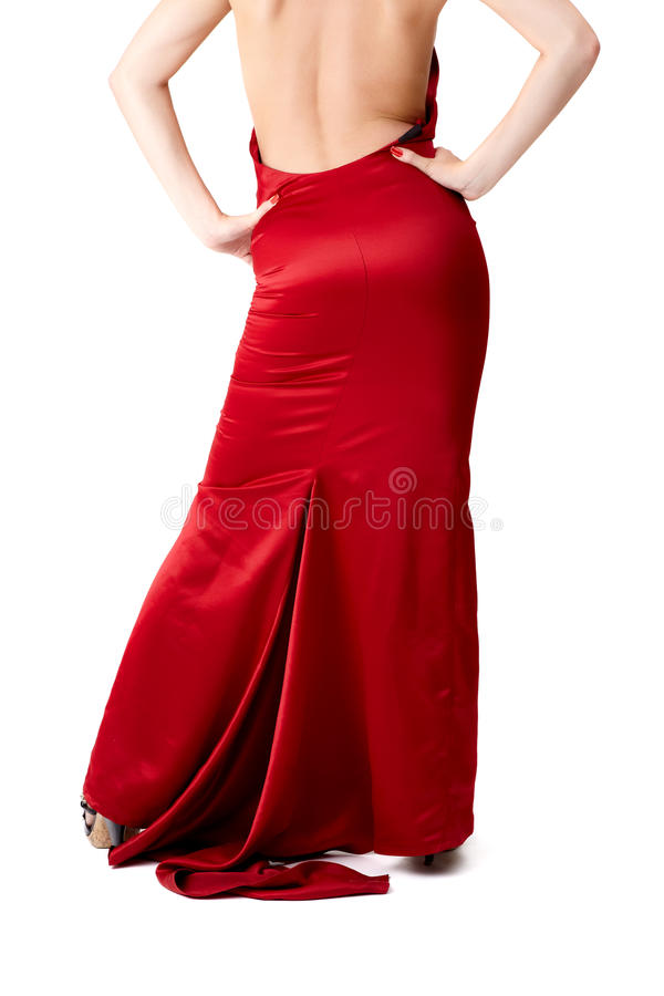 Download Lady in red stock photo. Image of glamour, elegance, hair - 16804268