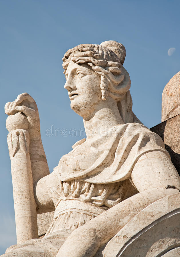 Download Lady of the Rostral column stock photo. Image of saint - 22326084